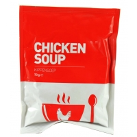 Image of De Identified Family Serving Chicken Soup 70g