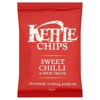 Image of TODAY ONLY Kettle Chips Sweet Chilli and Sour Cream Flavour 40g