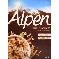 Image of SATURDAY SPECIAL Alpen Dark Chocolate 625g
