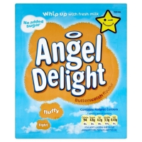 Image of Angel Delight Butterscotch Flavour Dessert Mix with No Added Sugar 47g