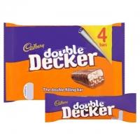 Image of Cadbury Double Decker Chocolate Bar 47g x 4