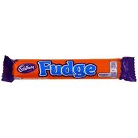 Image of Cadbury Fudge Chocolate Bar 25g