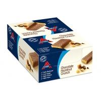 Image of TODAY ONLY CASE PRICE Atkins Chocolate Hazelnut Crunch Bars 16 x 60g