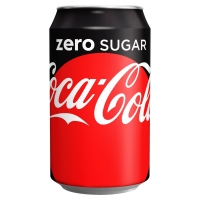 Image of TODAY ONLY Coca Cola Zero 330ml