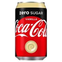 Image of TODAY ONLY Coca Cola Zero Vanilla 330ml