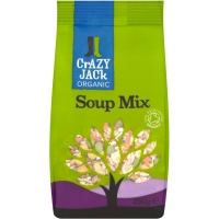 Image of FURTHER REDUCTION Crazy Jack Organic Soup Mix 175g