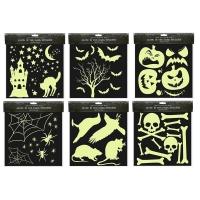 Image of Deluxe Halloween Glow In The Dark Stickers