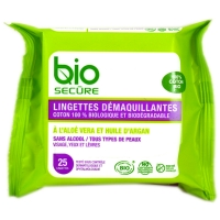 Image of Bio Secure Facial Cleaning Wipes - 25 wipes