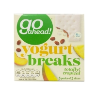 Image of TODAY ONLY Go Ahead Yogurt Breaks Tropical Fruit 178g 5 pack