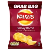 Image of SATURDAY SPECIAL Walkers Grab Bag Smoky Bacon Flavour Crisps 50g
