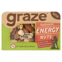 Image of Graze Natural Energy Nuts 37g