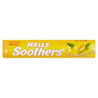 Image of Halls Soothers Honey and Lemon 45g