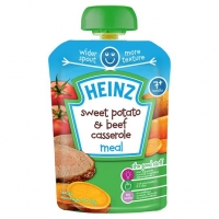 Image of  Heinz Sweet Potato and Beef Casserole 130g
