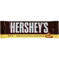 Image of SATURDAY SPECIAL Hersheys Creamy Milk Chocolate with Almonds 43g