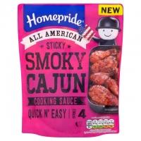 Image of Homepride Sticky Smoky Cajun Cooking Sauce 200g