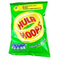 Image of TODAY ONLY Hula Hoops Cheese and Onion Flavour 34g