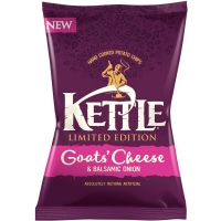 Image of Kettle Chips Goats Cheese and Balsamic Onion 150g