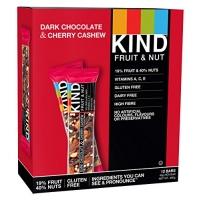 Image of Kind Dark Chocolate Cherry Cashew Bar 40 g