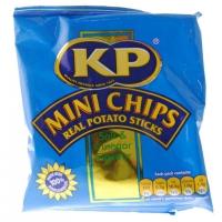 Image of Kp Mini Chips Salt and Vinegar Flavour Potato Sticks 33g