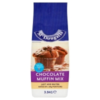 Image of Mcdougalls Chocolate Muffin Mix 3.5kg