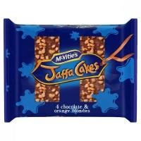 Image of TODAY ONLY McVities Jaffa Cakes 4 Chocolate Orange Blondies 158g