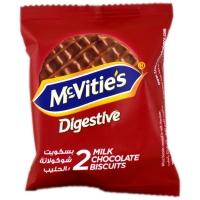 Image of McVities Milk Chocolate Biscuit 33.3g