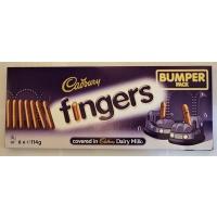 Image of MEGA DEAL Cadbury Fingers Bumper Pack 6 x 114g