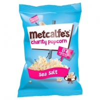 Image of Metcalfes Popcorn Sea Salt Flavour 70g