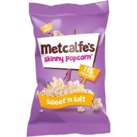 Image of Metcalfes Skinny Popcorn Sweet N Salt 25g