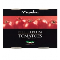 Image of TODAY ONLY Napolina Peeled Plum Tomatoes 400g x 2