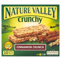 Image of Nature Valley Crunchy Granola Bars Cinnamon Crunch 42g x 5