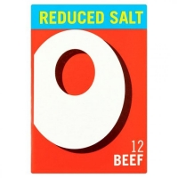 Image of Oxo 12 Beef Stock Cubes Reduced Salt 71g