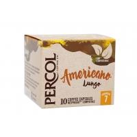 Image of Percol Rainforest Alliance Americano Lungo Coffee Capsules x10 55g