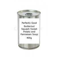 Image of Perfectly Good Butternut Squash Sweet Potato and Parmesan Soup 400g