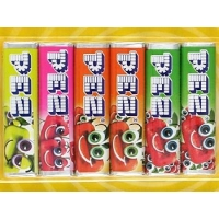 Image of Pez Fruit Flavour Sugar ConfectioneryTablets Lucky Dip 8g