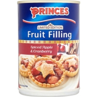 Image of TODAY ONLY Princes Limited Edition Spiced Apple and Cranberry Fruit Filling 395g