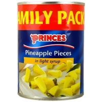 Image of TODAY ONLY Princes Pineapple Pieces in light syrup 565g