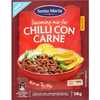 Image of TODAY ONLY Santa Maria Chilli Con Carne Seasoning Mix 28g