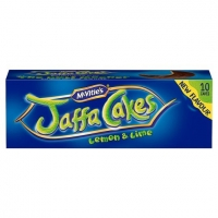 Image of SATURDAY SPECIAL McVities Jaffa Cakes Lemon and Lime 10 Pack