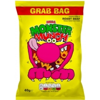 Image of SATURDAY SPECIAL Monster Munch Roast Beef Flavour Grab Bag 40g
