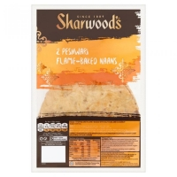 Image of TODAY ONLY Sharwoods 2 Peshwari Naans 260g