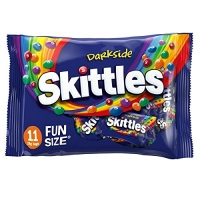 Image of TODAY ONLY Skittles Darkside Funsize - 11 Bags 198g