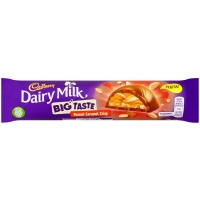Image of TODAY ONLY Cadbury Dairy Milk Big Taste Peanut Caramel Crisp 37.5g