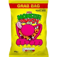 Image of TODAY ONLY Monster Munch Roast Beef Flavour 40g