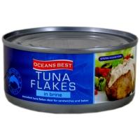 Image of MEGA DEAL Oceans Best Tuna Flakes in Brine 170g