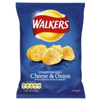 Image of Walkers Cheese and Onion 33g