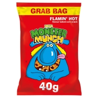 Image of TODAY ONLY Walkers Mega Monster Munch Flamin Hot 40g