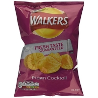 Image of Walkers Prawn Cocktail Flavour Crisps 32.5 g