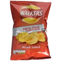 Image of Walkers Ready Salted Crisp 32.5g