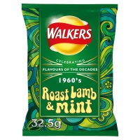 Image of Walkers Roast Lamb and Mint 32.5g
